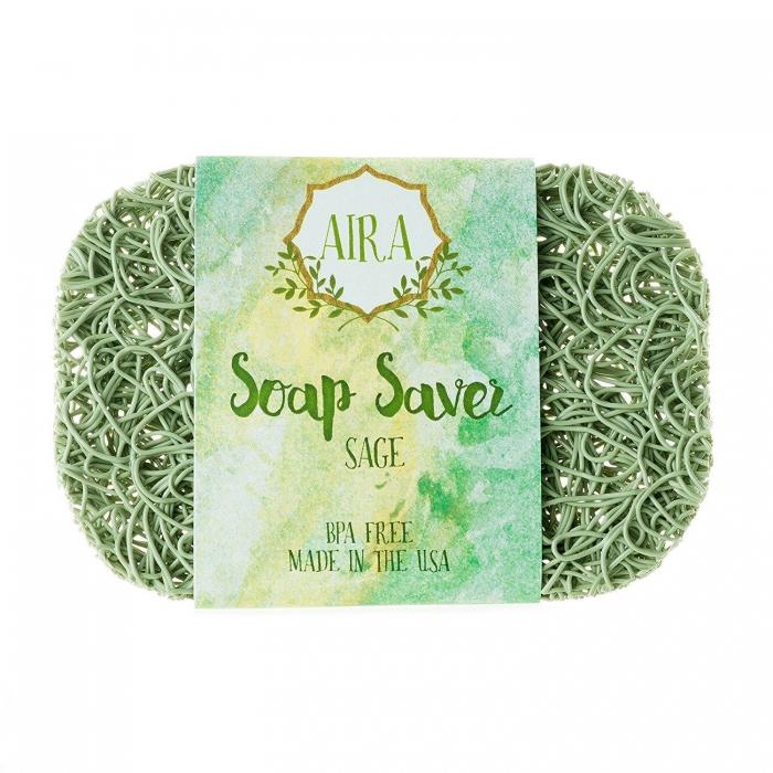 AIRA - ナチュラルソープディッシュ - 石鹸置き で 石鹸が 溶ける と 雑菌 が繁殖してしまう