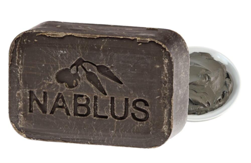 ナーブルスソープ - 死海の泥石鹸 - オーガニック 無添加 ミネラル 肌の透明感 日焼けによる シミ そばかす 予防