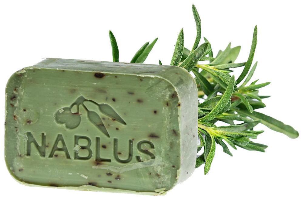 ナーブルスソープ - タイム石鹸 - オーガニック 殺菌成分 体臭 年齢肌 角栓の黒ずみ