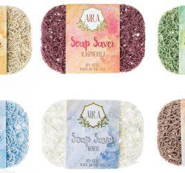 AIRA- ナチュラルソープディッシュ(100%天然素材の石鹸置き)