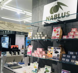 ナーブルスソープ 東急 渋谷スクランブルスクエア ポップアップストア