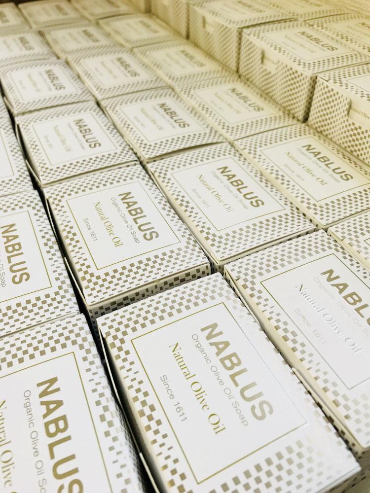 ナーブルスソープ – 完全無添加オーガニック・ヴィーガン洗顔&ボディー石鹸