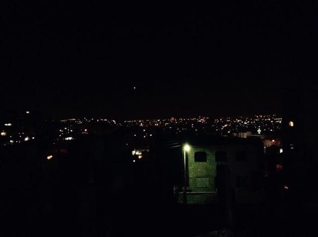 ガザの夜景