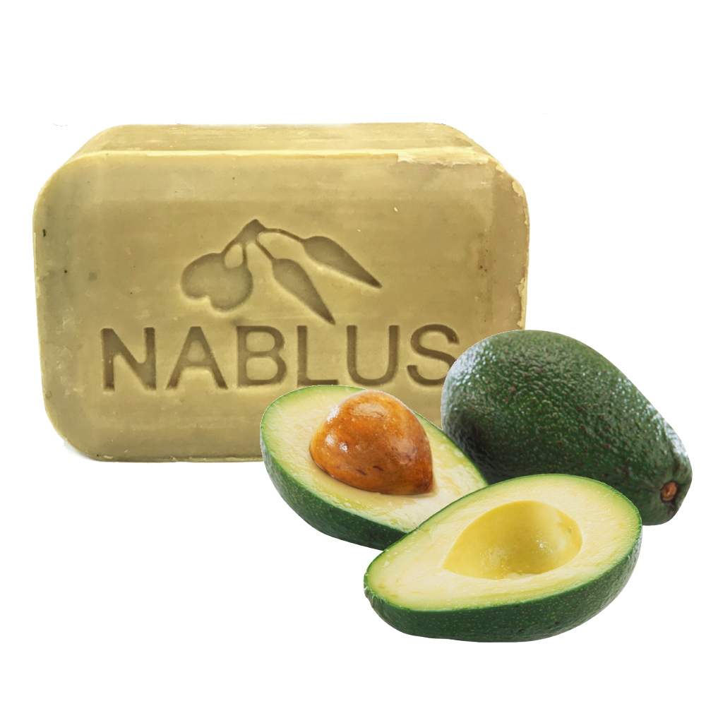 ナーブルスソープ - アボカド - オーガニック石鹸 保湿成分 乾燥肌 無添加石鹸