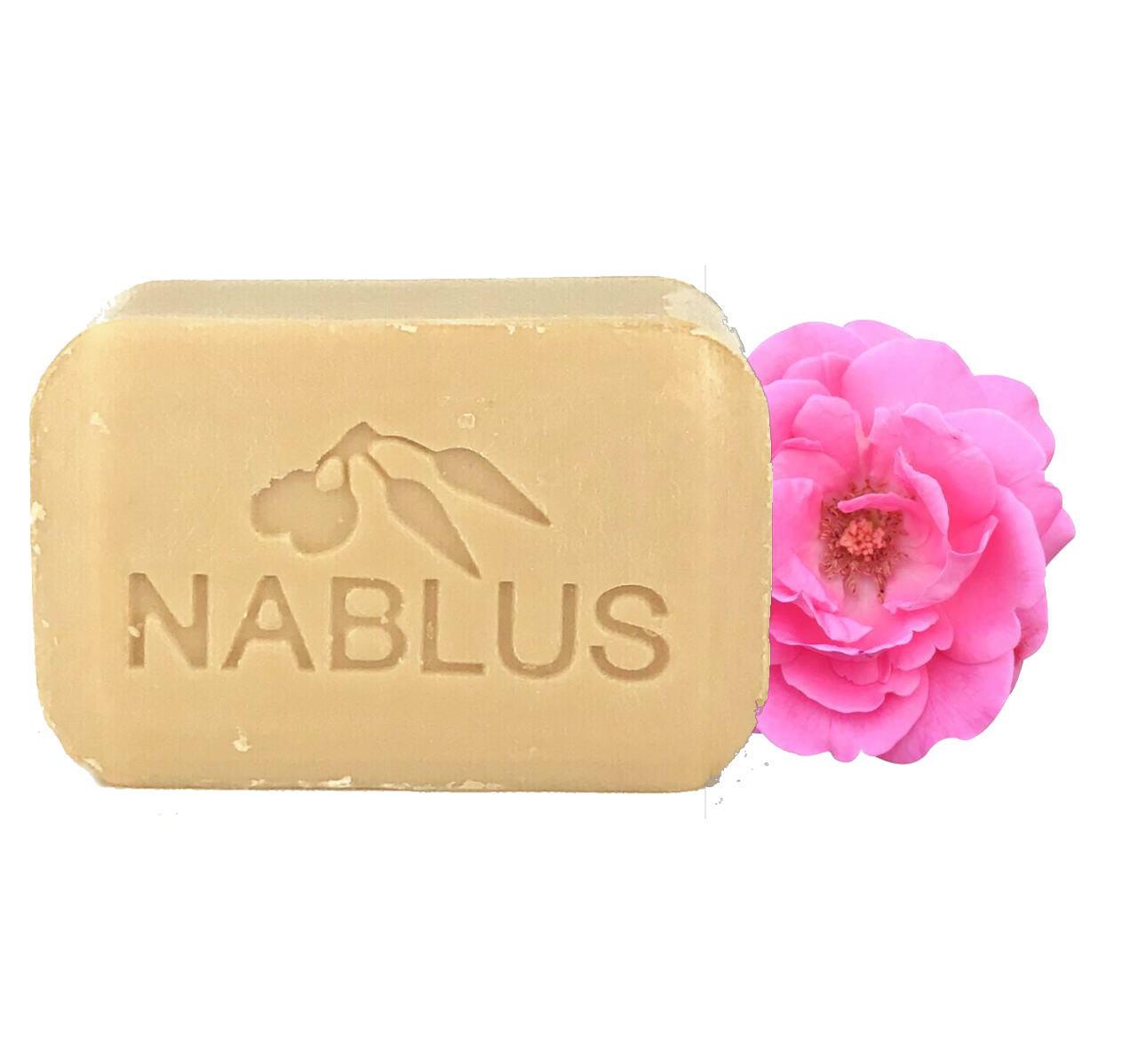 Nablus Soap ナーブルスソープ - ダマスクローズ - オーガニック石鹸