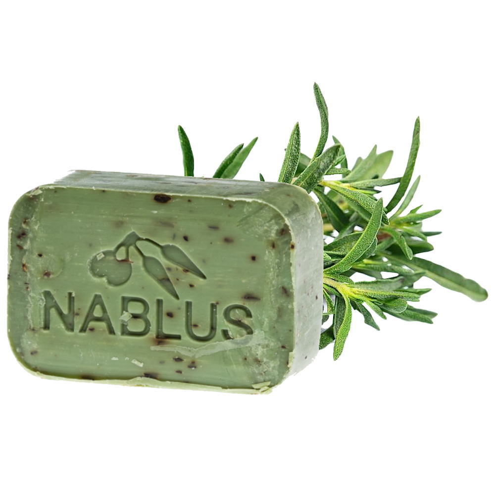 ナーブルスソープ - タイム - オーガニック石鹸 保湿成分 乾燥肌 無添加石鹸